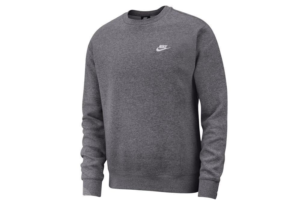 ביגוד נייק לגברים Nike M NSW CLUB - אפור כהה