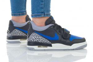 נעליים נייק לנשים Nike JORDAN LEGACY LOW - שחור/כחול
