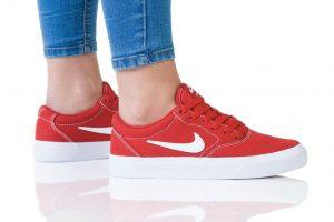 נעלי סניקרס נייק לנשים Nike SB CHARGE - אדום