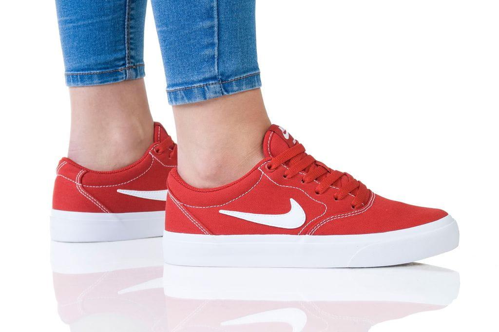 נעליים נייק לנשים Nike SB CHARGE - אדום