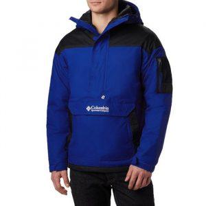 ביגוד קולומביה לגברים Columbia Challenger Pullover - כחול/שחור