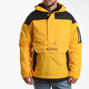 ביגוד קולומביה לגברים Columbia Challenger Pullover - צהוב