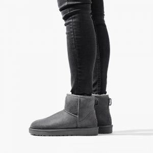 נעליים האג לנשים UGG Classic Mini II - אפור