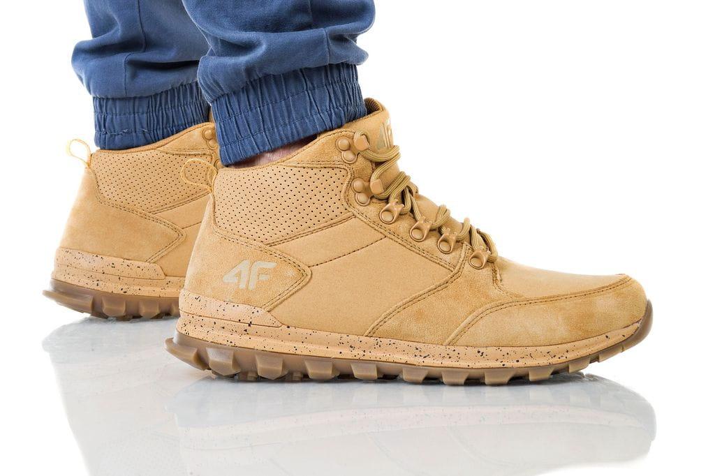 נעליים פור אף לגברים 4F D4Z19 OBMH200 - חום