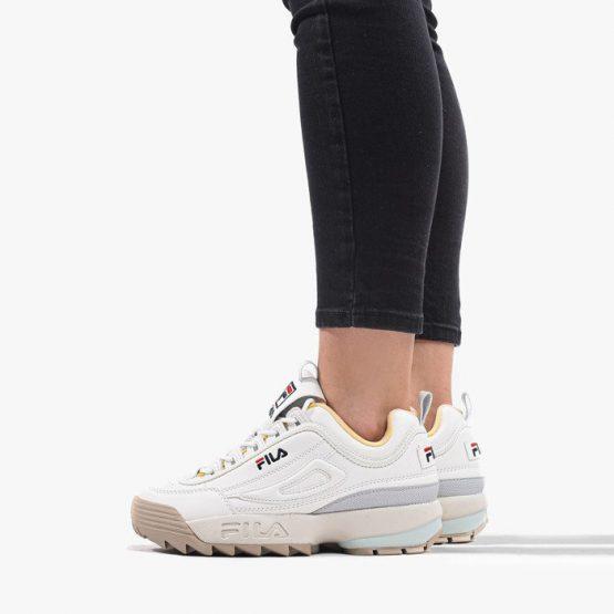 נעליים פילה לנשים Fila Disruptor Low - לבן/צהוב