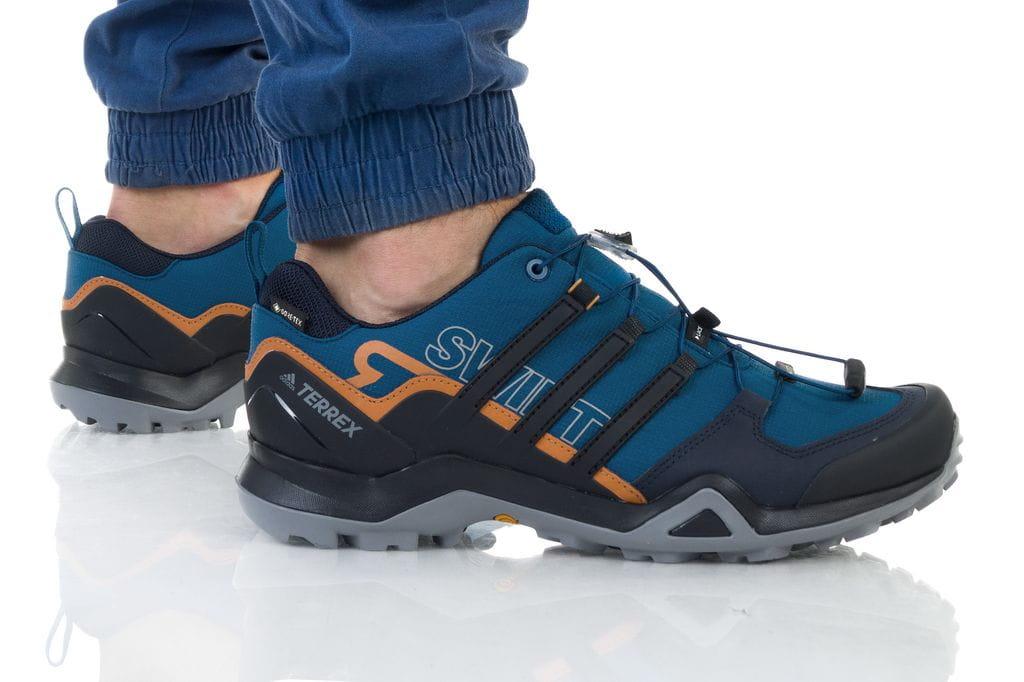 נעליים אדידס לגברים Adidas TERREX SWIFT R2 GTX - כחול
