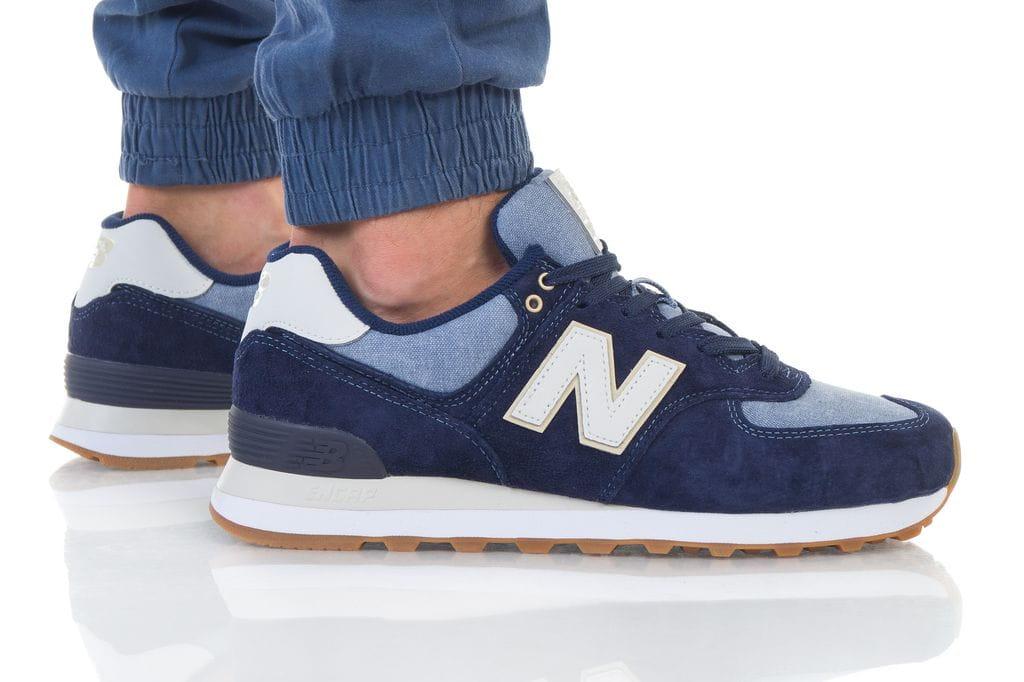 נעליים ניו באלאנס לגברים New Balance ML574 - כחול