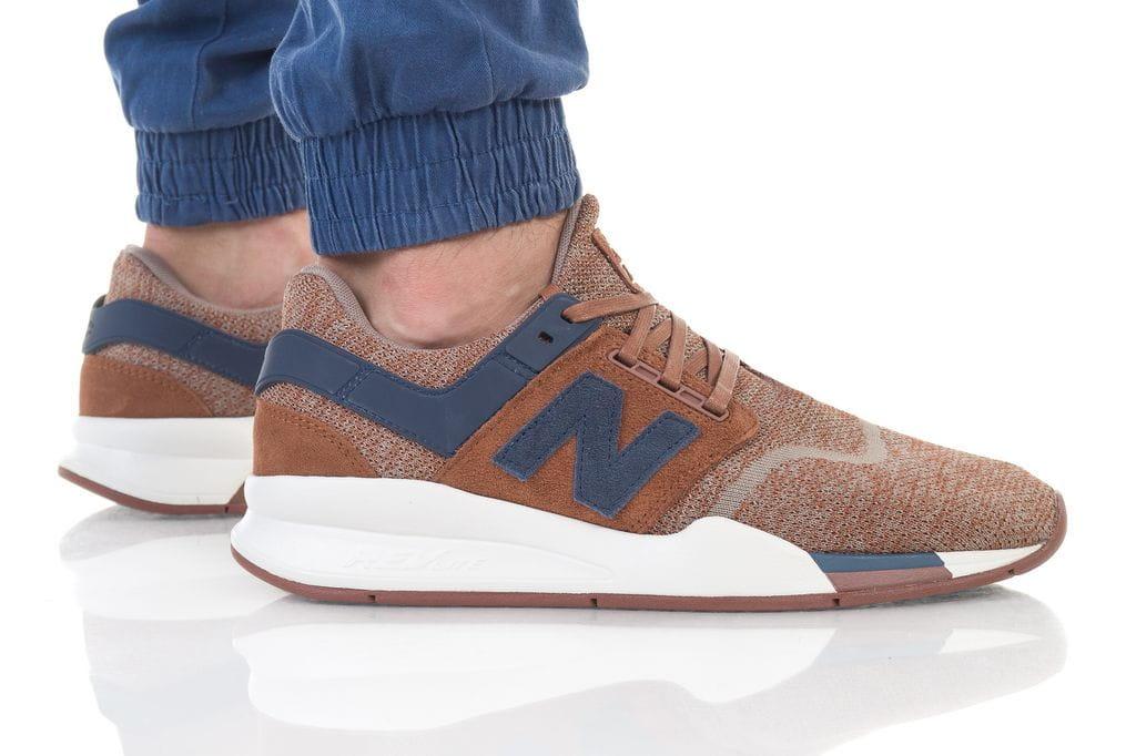 נעליים ניו באלאנס לגברים New Balance 247 - חום