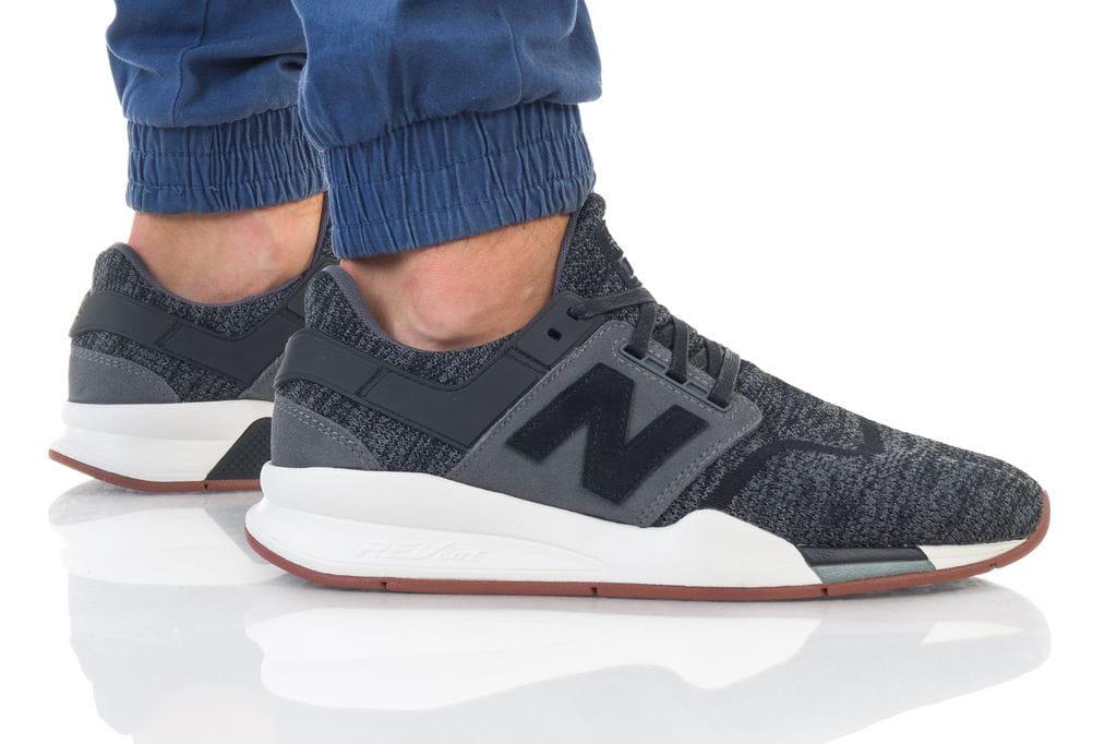 נעליים ניו באלאנס לגברים New Balance 247 - אפור