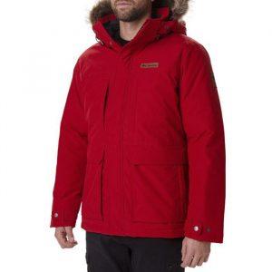 ביגוד קולומביה לגברים Columbia Marquam Peak - אדום כהה