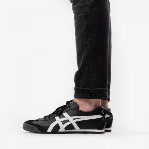 נעלי סניקרס אסיקס טייגר לגברים Asics Tiger Onitsuka Tiger Mexico 66 - שחור/לבן