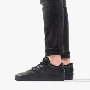 נעליים Adidas Originals לגברים Adidas Originals Rivalry Low - שחור מלא