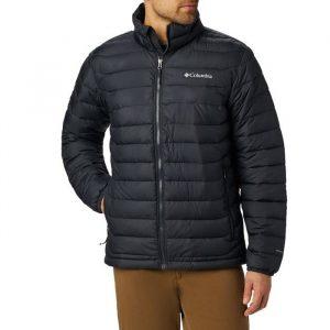ג'קט ומעיל קולומביה לגברים Columbia Powder Lite - שחור מלא