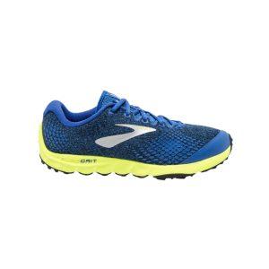 נעליים ברוקס לגברים Brooks PureGrit 7 - כחול/צהוב