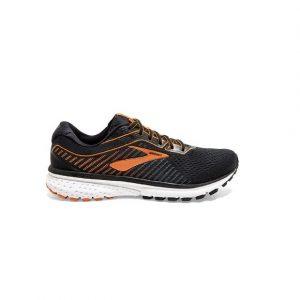 נעליים ברוקס לגברים Brooks Ghost 12 - שחור/כתום