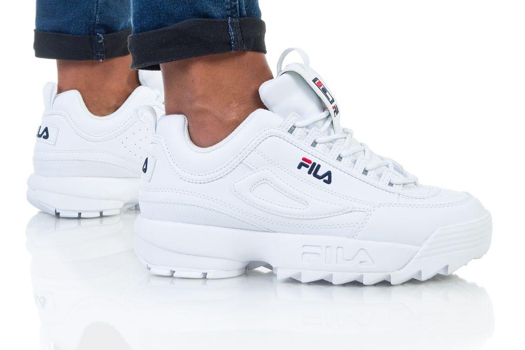 נעליים פילה לנשים Fila Disruptor Low Wmn - לבן