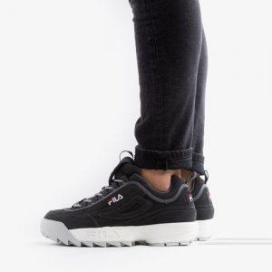 נעליים פילה לגברים Fila Disruptor Low - שחור/לבן