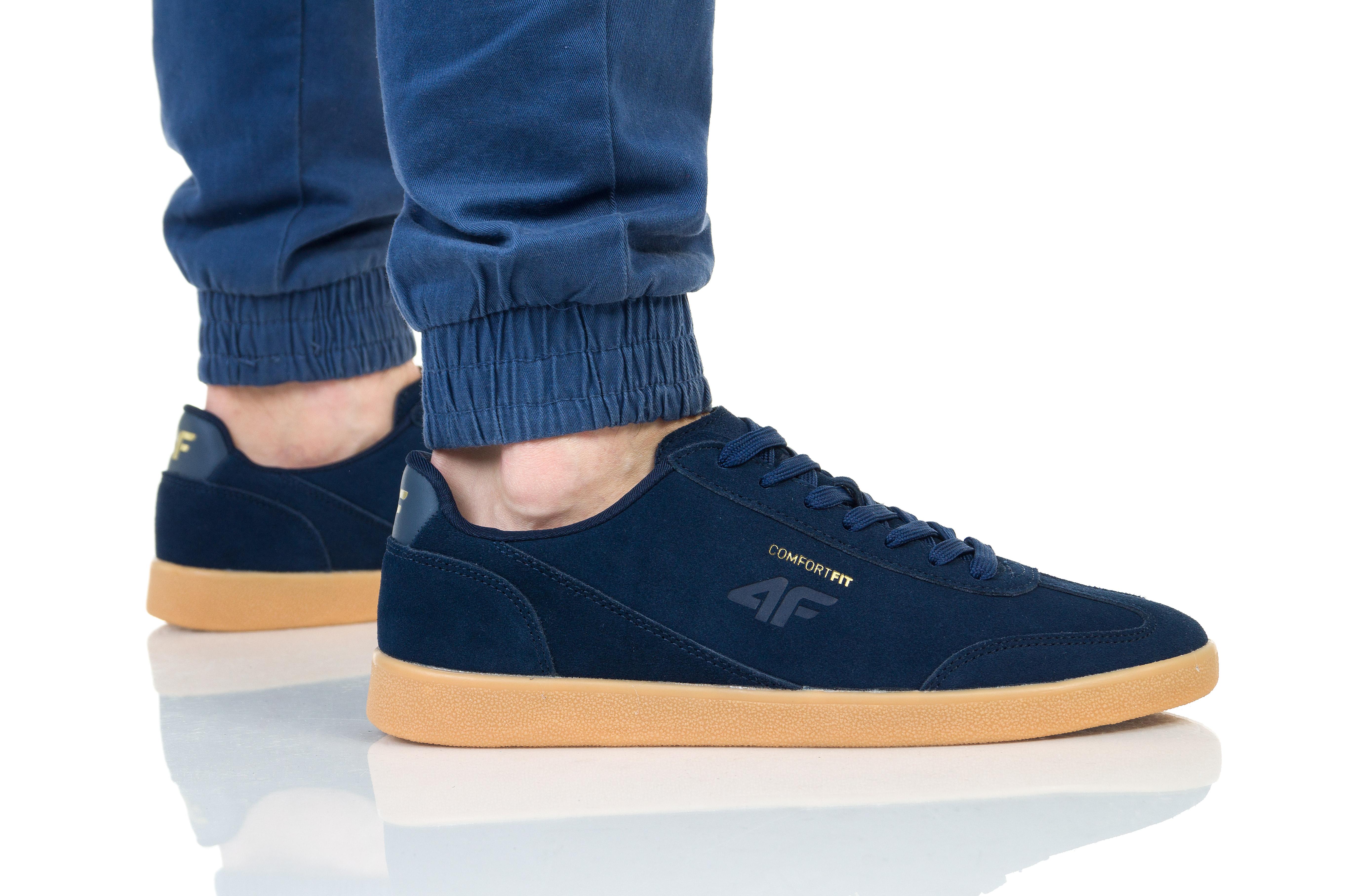 נעליים פור אף לגברים 4F D4L19 OBML201 - כחול