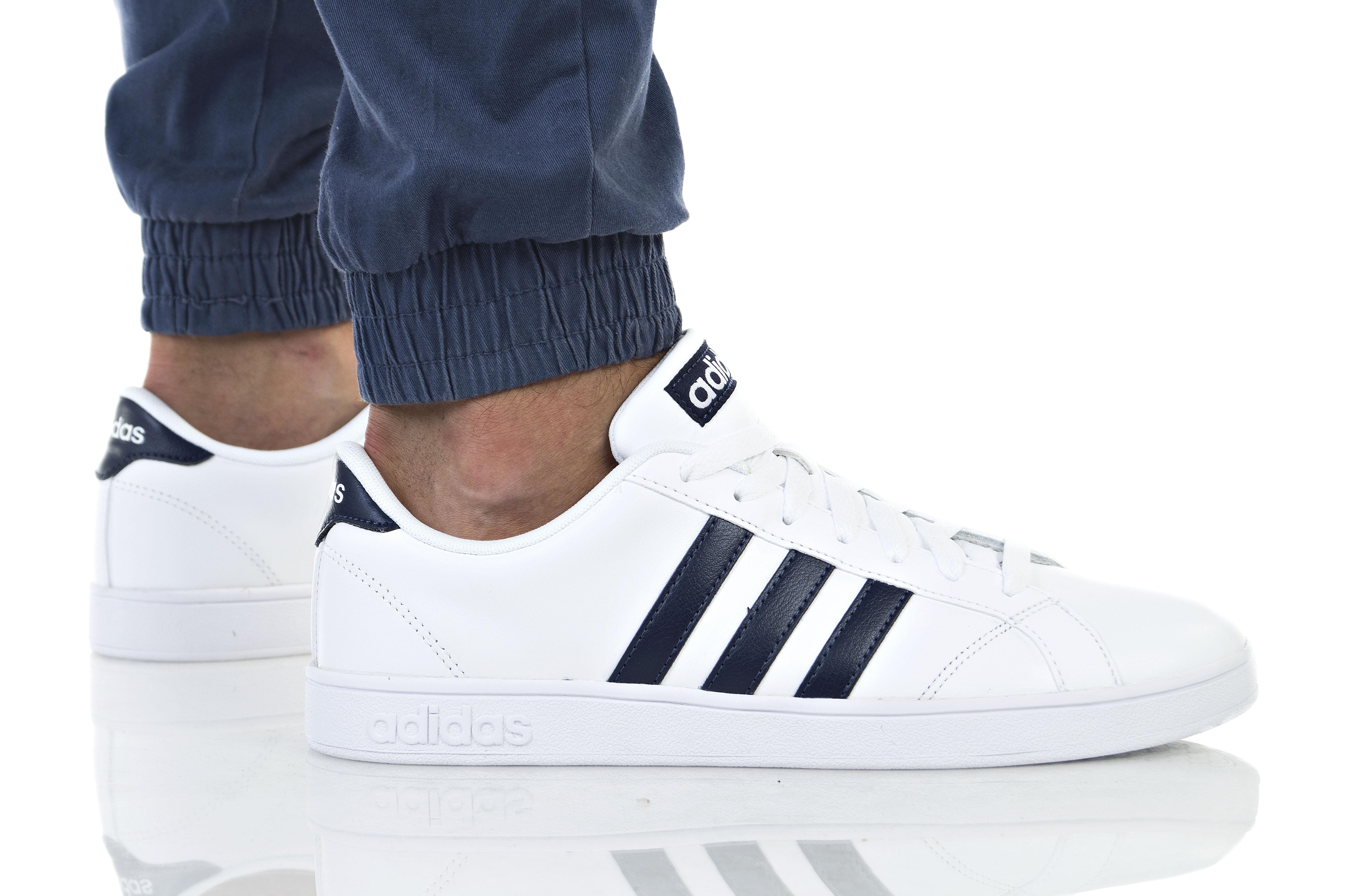 נעליים אדידס לגברים Adidas BASELINE - לבן