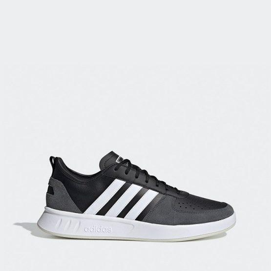 נעליים אדידס לגברים Adidas Court80S - שחור/לבן