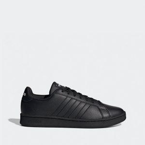 נעליים אדידס לגברים Adidas Grand Court - שחור מלא