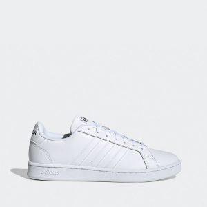 נעלי סניקרס אדידס לגברים Adidas Grand Court - לבן