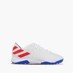 נעליים אדידס לגברים Adidas NEMEZIZ MESSI 19.3 TF - לבן  כחול  אדום