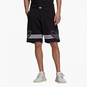 ביגוד Adidas Originals לגברים Adidas Originals Outline Short - שחור
