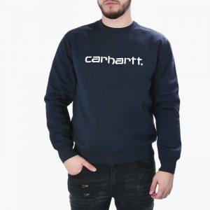ביגוד קארהארט לגברים Carhartt WIP Dark Navy - כחול