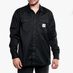 ביגוד קארהארט לגברים Carhartt WIP Master Shirt - שחור