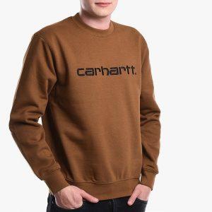 ביגוד קארהארט לגברים Carhartt WIP Sweatshirt - חום