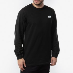 ביגוד HUF לגברים HUF Essential Bar Log Longsleeve x Japan - שחור
