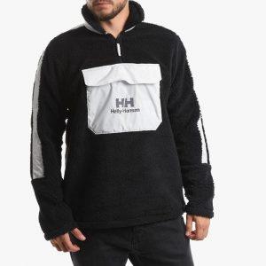 ביגוד הלי הנסן לגברים Helly Hansen Young Urban 1/2 Zip Pile Sweater - שחור