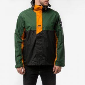 ביגוד הלי הנסן לגברים Helly Hansen Young Urban Rain Jacket - שחור/ירוק