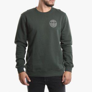 ביגוד מאקיה לגברים Makia Range Sweatshirt - ירוק