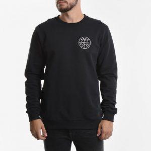 ביגוד מאקיה לגברים Makia Range Sweatshirt - שחור