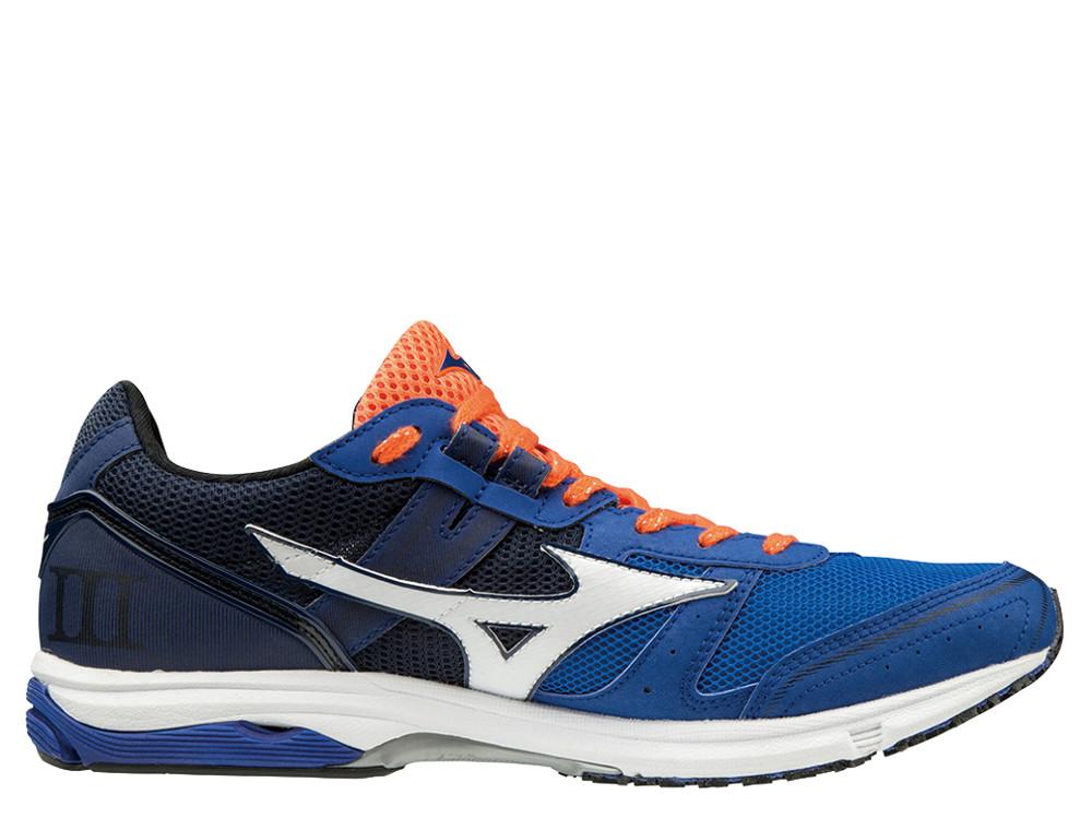 נעליים מיזונו לגברים Mizuno WAVE EMPEROR 3 - כחול/כתום