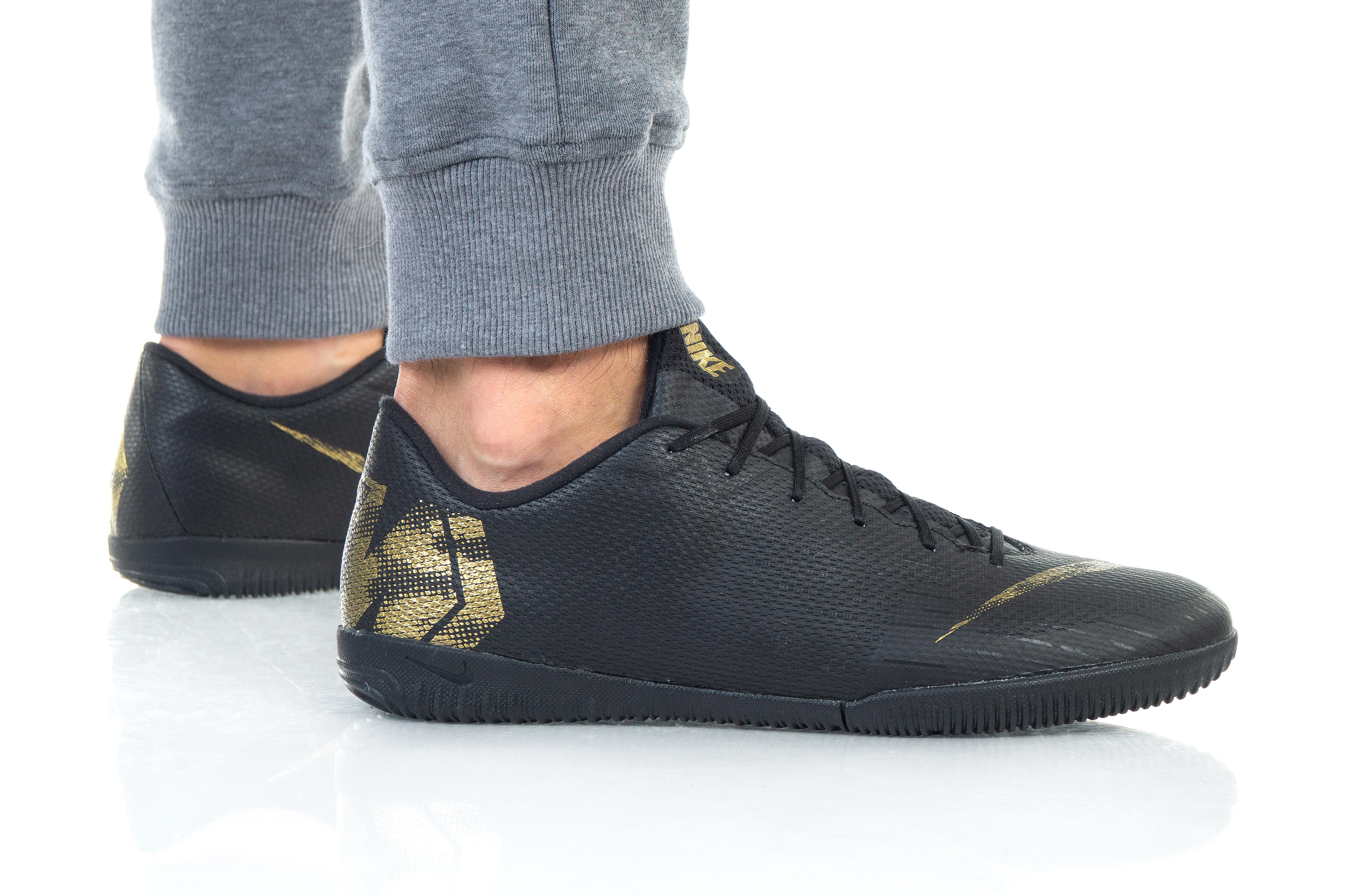נעליים נייק לגברים Nike VAPOR 12 ACADEMY IC - שחור
