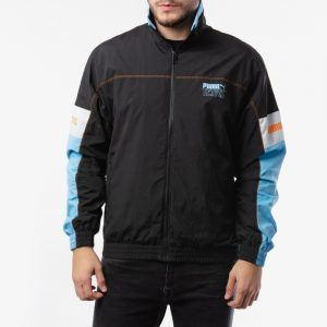 ביגוד פומה לגברים PUMA x Tetris Track Jacket - שחור