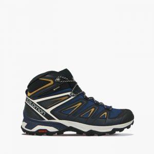 נעליים סלומון לגברים Salomon X Ultra 3 Mid Gore-Tex - כחול כהה