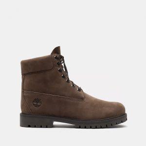 נעליים טימברלנד לגברים Timberland Heritage 6-inch WP - חום