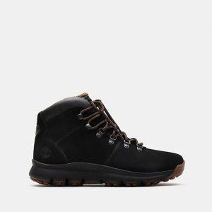 נעליים טימברלנד לגברים Timberland World Hiker Mid Boot - שחור