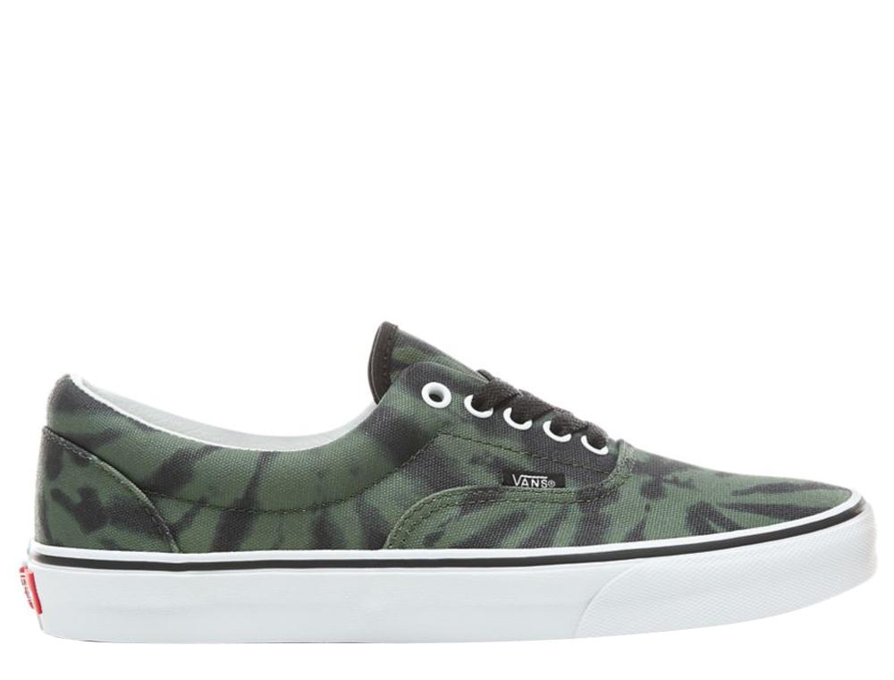 נעליים ואנס לגברים Vans BUTY VANS UA ERA (TIE DYE) GARDE - שחור/ירוק