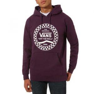 ביגוד ואנס לגברים Vans Checkered Side - בורדו