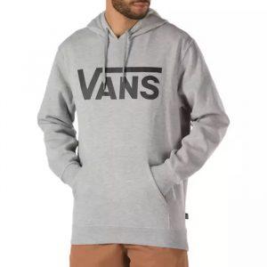 ביגוד ואנס לגברים Vans Classic Pullover II - אפור