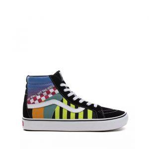 נעליים ואנס לגברים Vans Comfycush Sk8-Hi - צבעוני