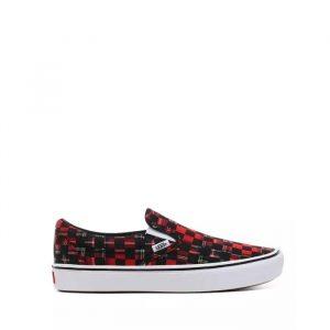 נעליים ואנס לגברים Vans Comfycush Slip-On - שחור/אדום