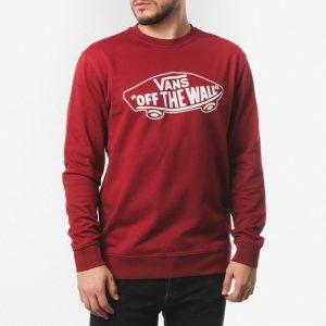 ביגוד ואנס לגברים Vans OTW Crew - אדום