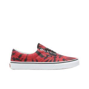 נעליים ואנס לגברים Vans UA ERA (TIE DYE) TANGO - שחור/אדום