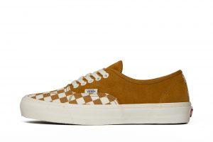 נעליים ואנס לגברים Vans UA OG AUTHENTIC LX - חום